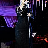 Meghan Trainor brought her musical stylings to Clive Davis's gala.