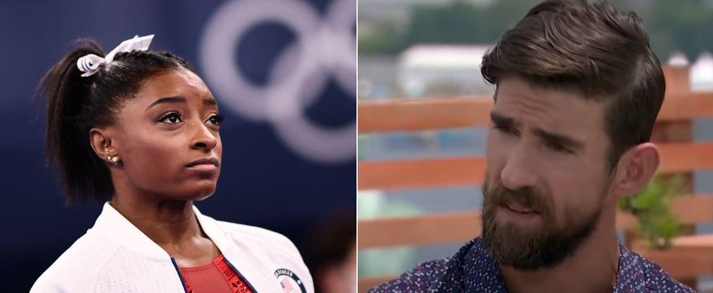 Michael Phelps on Simone Biles' Mental Health, 2021 Olympics