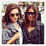 Kate Waterhouse snapped Phoebe Tonkin and Vogue fashion editor Christine Centenera. Source: Instagram user katewaterhouse7