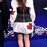 Camila Cabello's Dolce & Gabbana Rose-Embroidered Blouse
