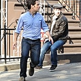 Paul Rudd ran on set.