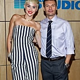 Miley Cyrus gave a happy and funny interview to Ryan Seacrest amid breakup rumors with Liam Hemsworth.