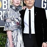 Lucy Boynton's Eye Makeup at the 2020 Golden Globes
