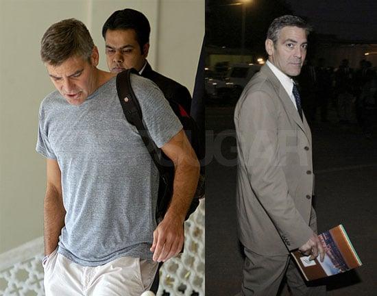 George Clooney in India as U.N. Messenger of Peace