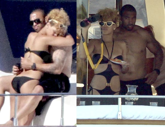 Photos of Rihanna in Cabo on a Boat