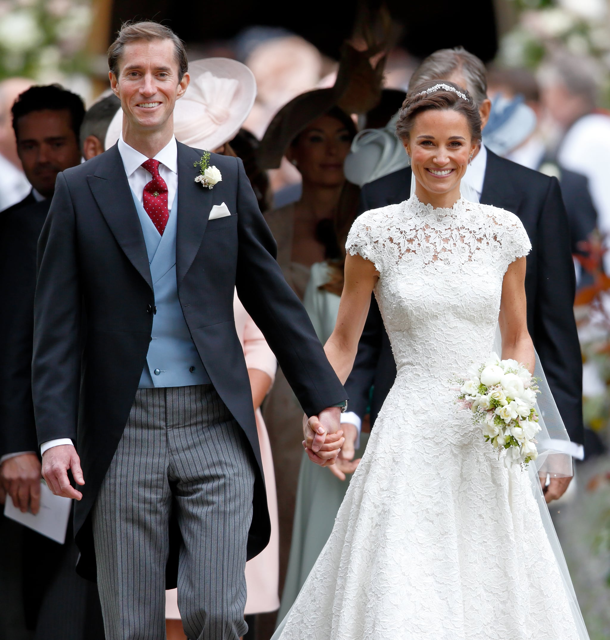 Pippa Middleton's Wedding Earrings: Recycles Royal Wedding Jewelry For 'Something Old'