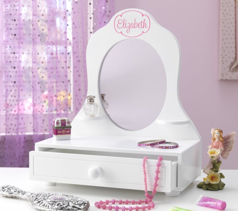 Personalized Tabletop Vanity