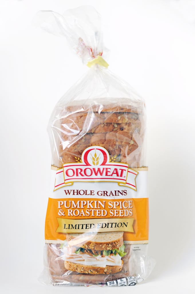 Oroweat Whole Grains Pumpkin Spice and Roasted Seeds