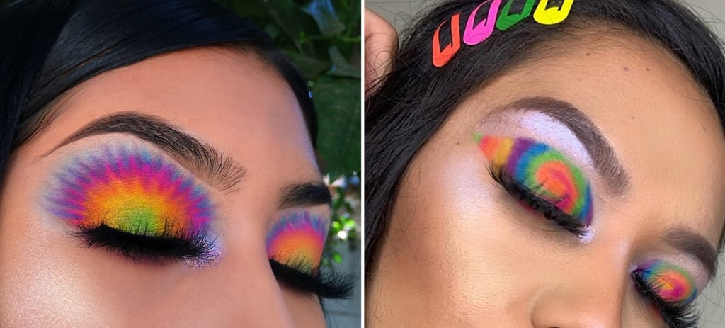 Tie-Dye Is the Latest Instagram Beauty Trend, and It's Taking Us Straight Back to Summer Camp