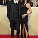 John Stamos and Caitlin McHugh at the 2018 SAG Awards