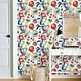 Tropical Floral Wall Paper Peel