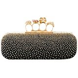 Alexander McQueen Studded Knuckle Box Clutch