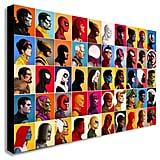 Marvel Comics Super Hero Collage