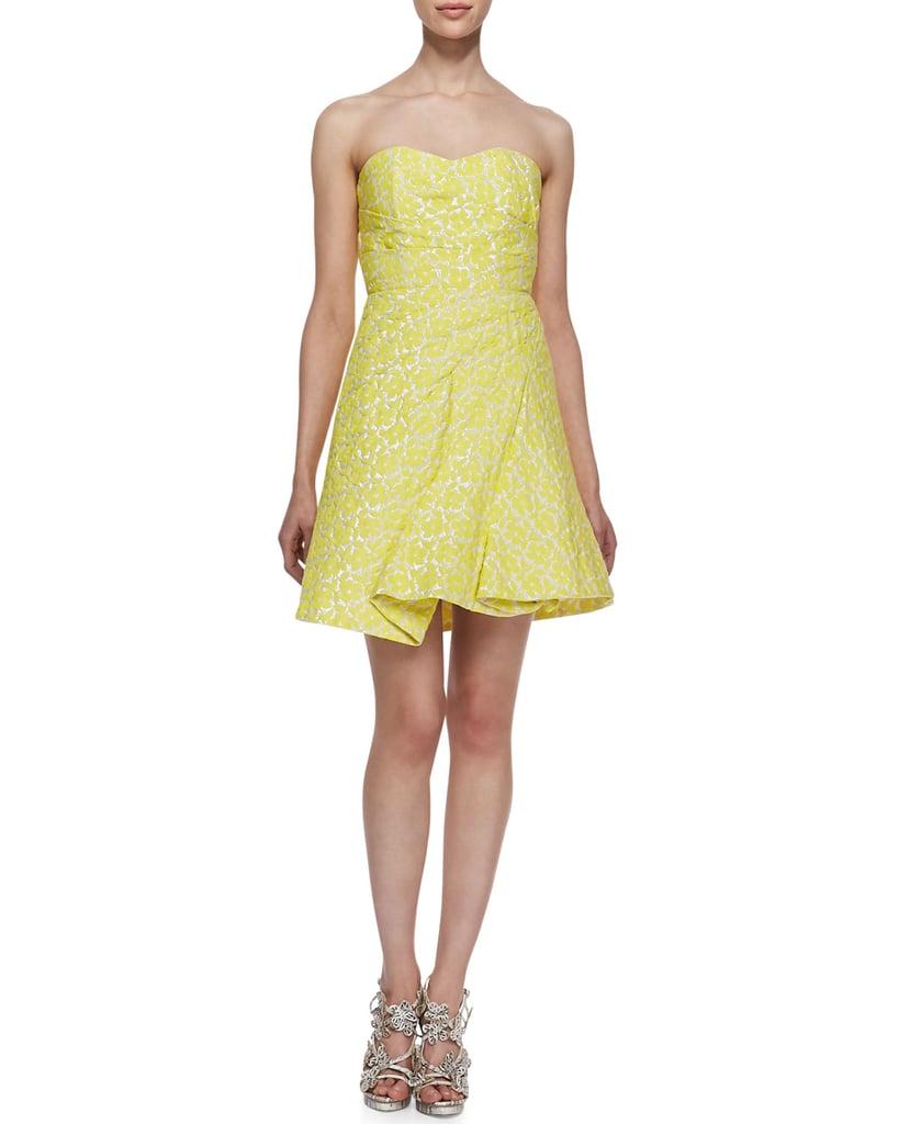 Alice + Olivia Yellow Dress