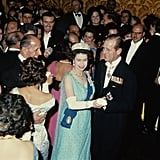 The Queen and Prince Philip in Malta in November 1967