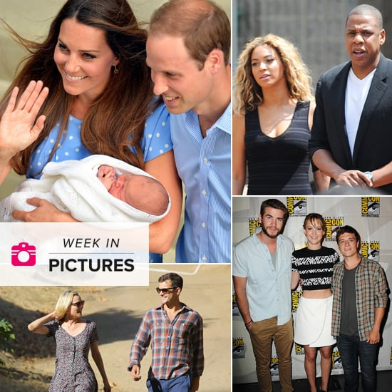 The Week in Pictures: Prince George Arrives, Beyoncé & Jay Z, Catching Fire Cast, Hiking Dates & More!