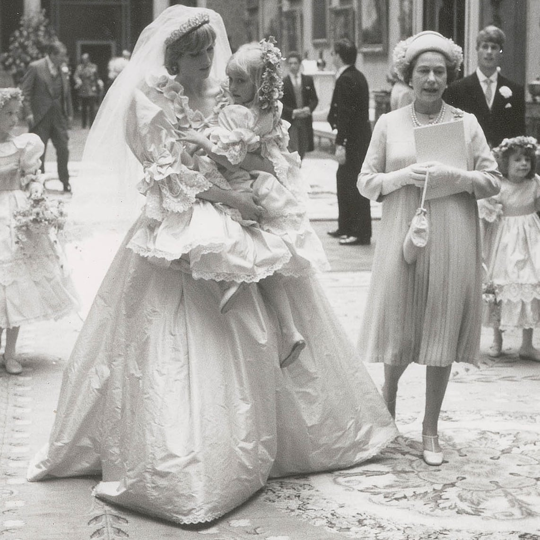 Princess Diana Wedding Pictures | POPSUGAR Celebrity