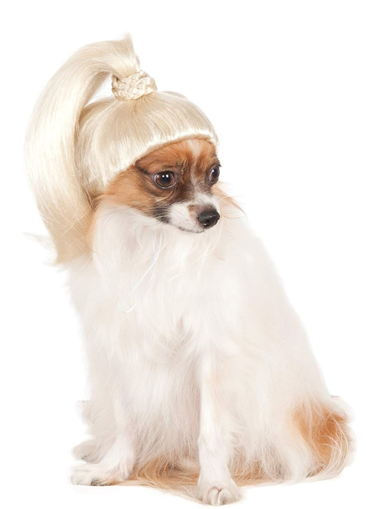 Rubies Costume Company Pet Wig Blonde Ponytail