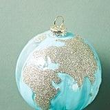 Glittering Globe Ornament