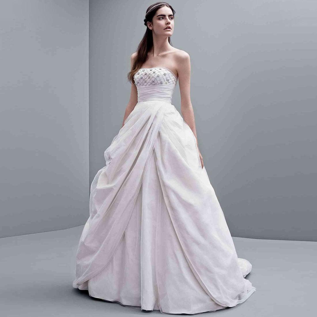 Kim Kardashian Vera Wang Dress