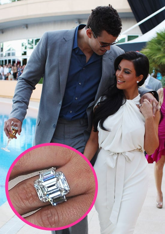 Pictures of Kim Kardashian and Kris Humphries Engaged