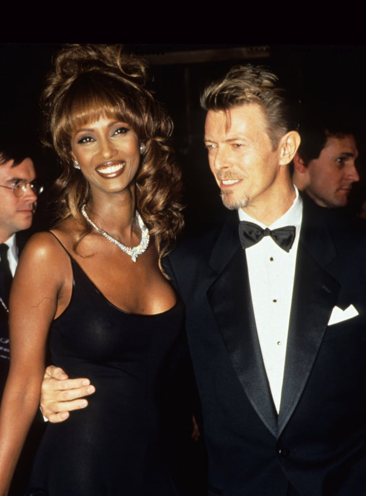Iman and David Bowie | Celebrity Couples From the '90s ...