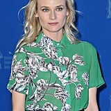 Diane Kruger posed in 10 Crosby by Derek Lam to the Berlin Film Festival Festival.