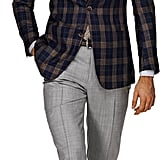 Suit Supply is my sartorial secret weapon. It offers ultratailored pieces, like this Washington Half Blue Check Sportcoat ($349) with a dramatic, peak-lapel collar, strong shoulders, and bold print, for prices that wont break the bank. The man, sadly, is not included.  — Robert Khederian, Style & Trends editorial assistant
