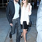 Kate Bosworth and Michael Polish headed to the airport in Sydney.