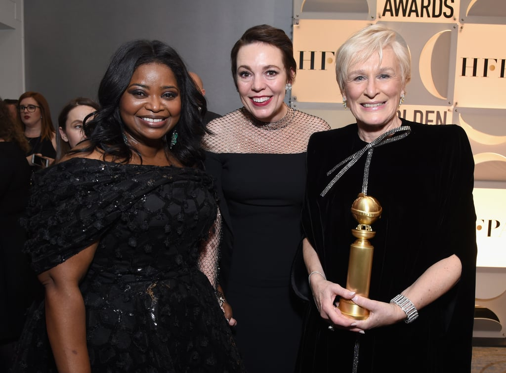 Pictured: Octavia Spencer, Olivia Colman, and Glenn Close