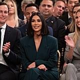 Kim Kardashian at the White House Pictures June 2019