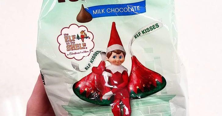 Elf on the shelf hershey 39 s kisses popsugar moms for Elf on the shelf chocolate kiss