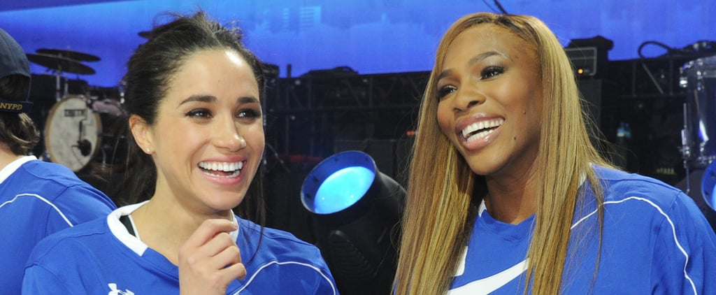 Serena Williams on Giving Parenting Advice to Meghan Markle