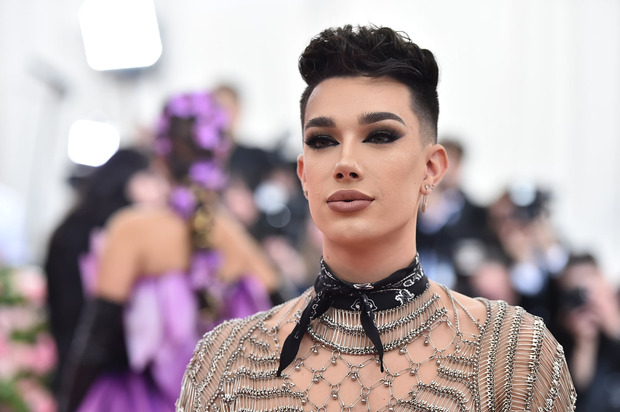 NEW YORK, NEW YORK - MAY 06: James Charles attends The 2019 Met Gala Celebrating Camp: Notes on Fashion at Metropolitan Museum of Art on May 06, 2019 in New York City. (Photo by Theo Wargo/WireImage)