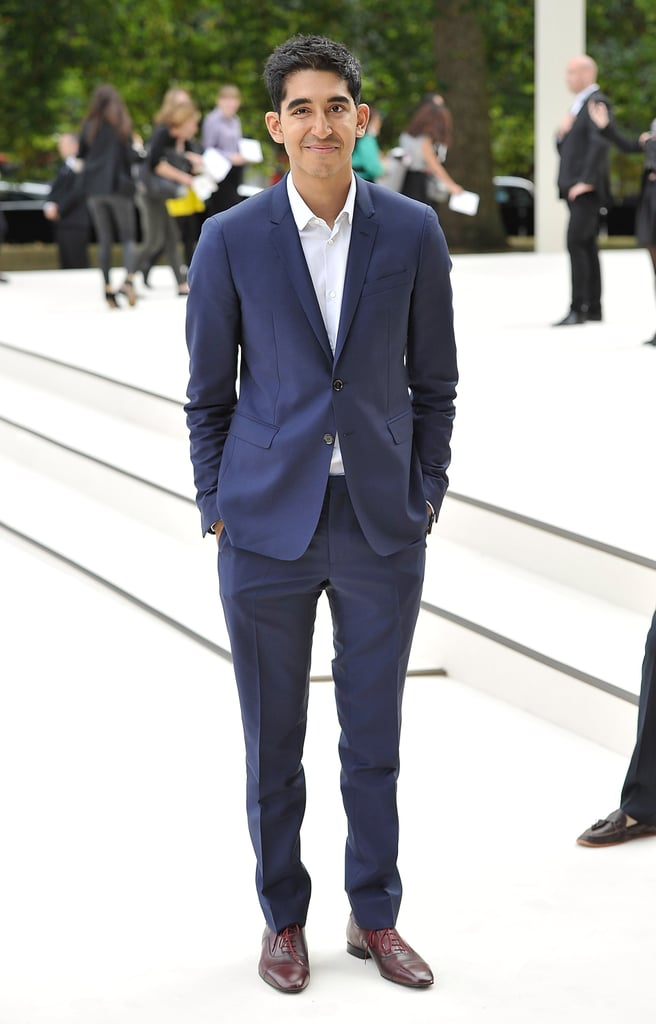 Dev Patel at Burberry