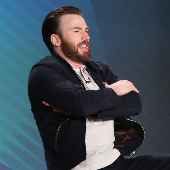 Chris Evans and Elizabeth Olsen Dancing on Ellen DeGeneres
