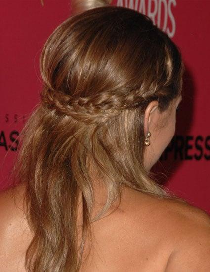lauren conrads hair how to get her braids popsugar beauty
