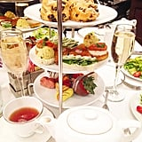 Afternoon tea at Steakhouse 55