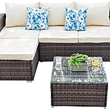 Outdoor Sectional Furniture Sofa Set 3 Piece