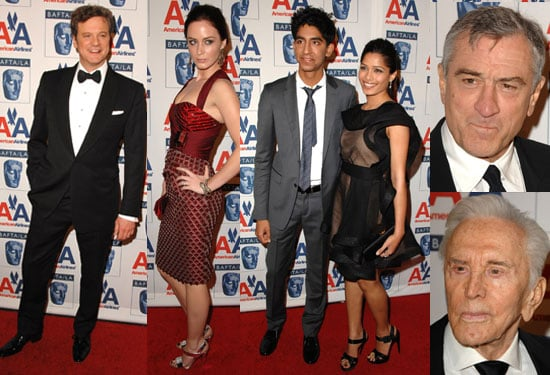Photos of BAFTA LA Britannia Awards Including Dev Patel, Freida Pinto, Emily Blunt, Colin Firth, Robert De Niro, Claire Danes