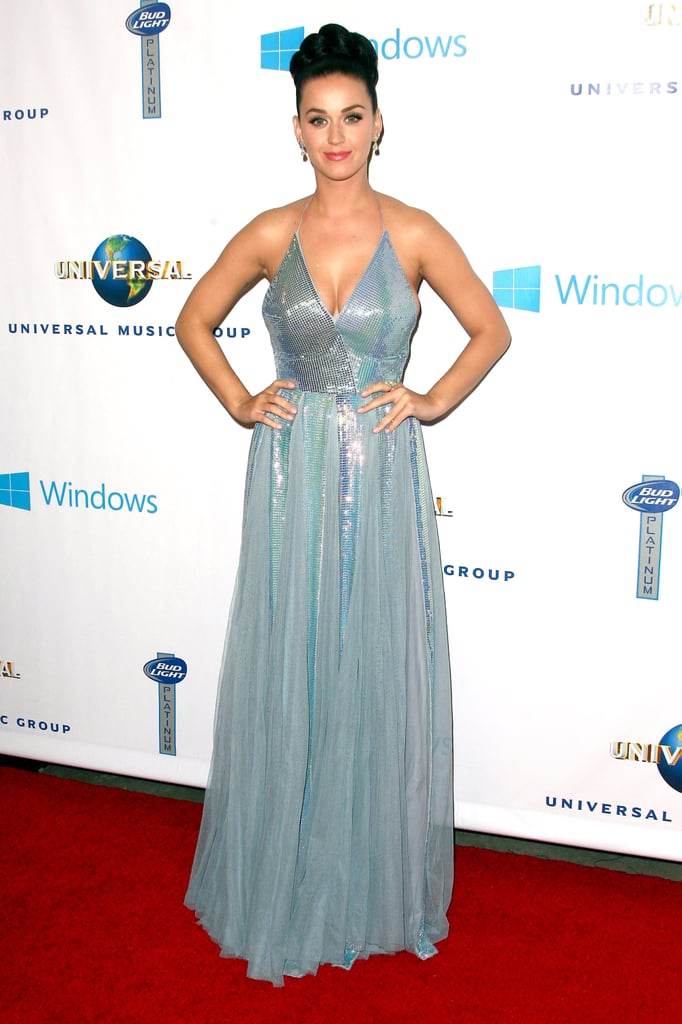 Katy Perry in Blue Dress