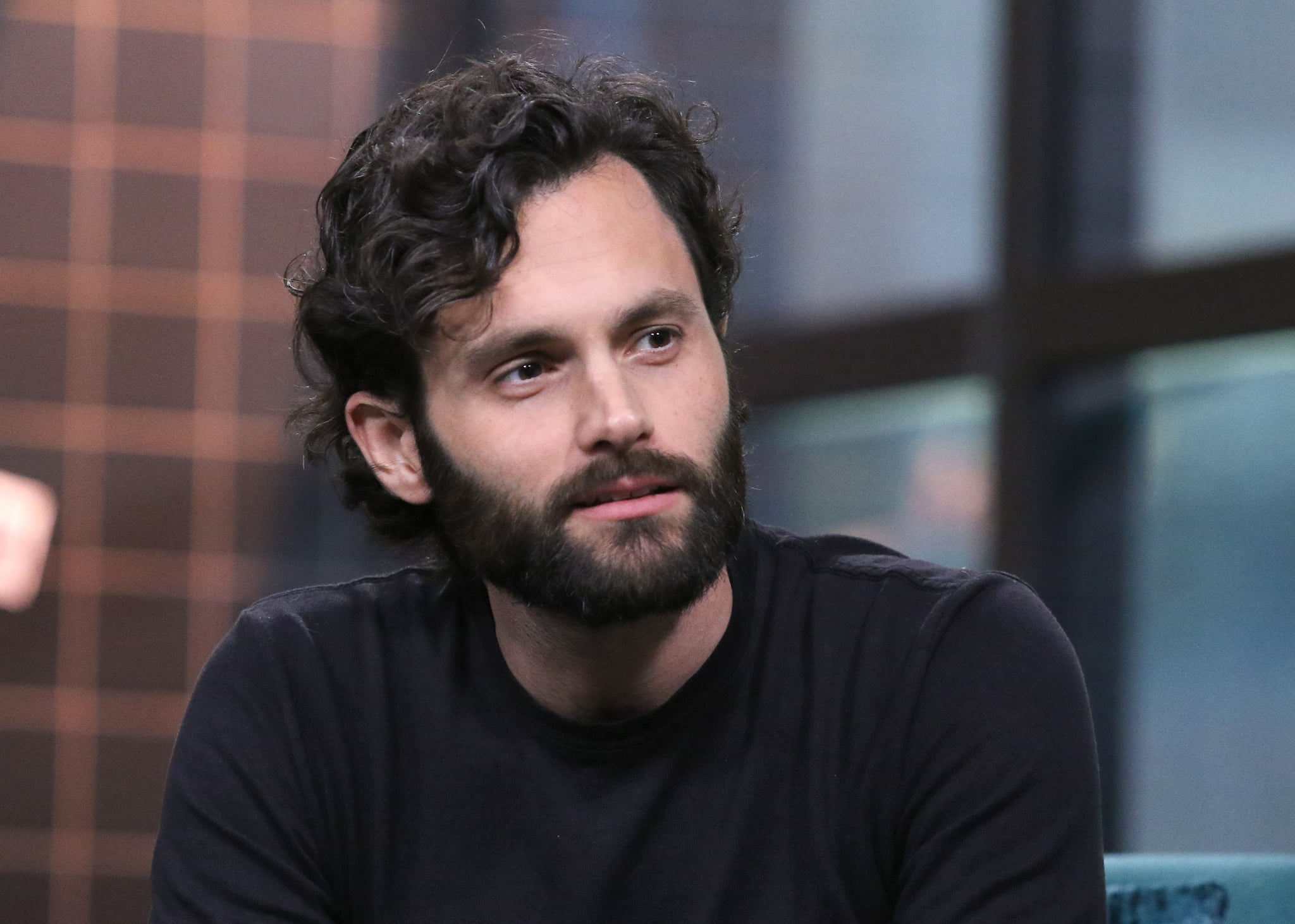 NEW YORK, NEW YORK - JANUARY 09: Actor Penn Badgley attends the Build Series to discuss his show