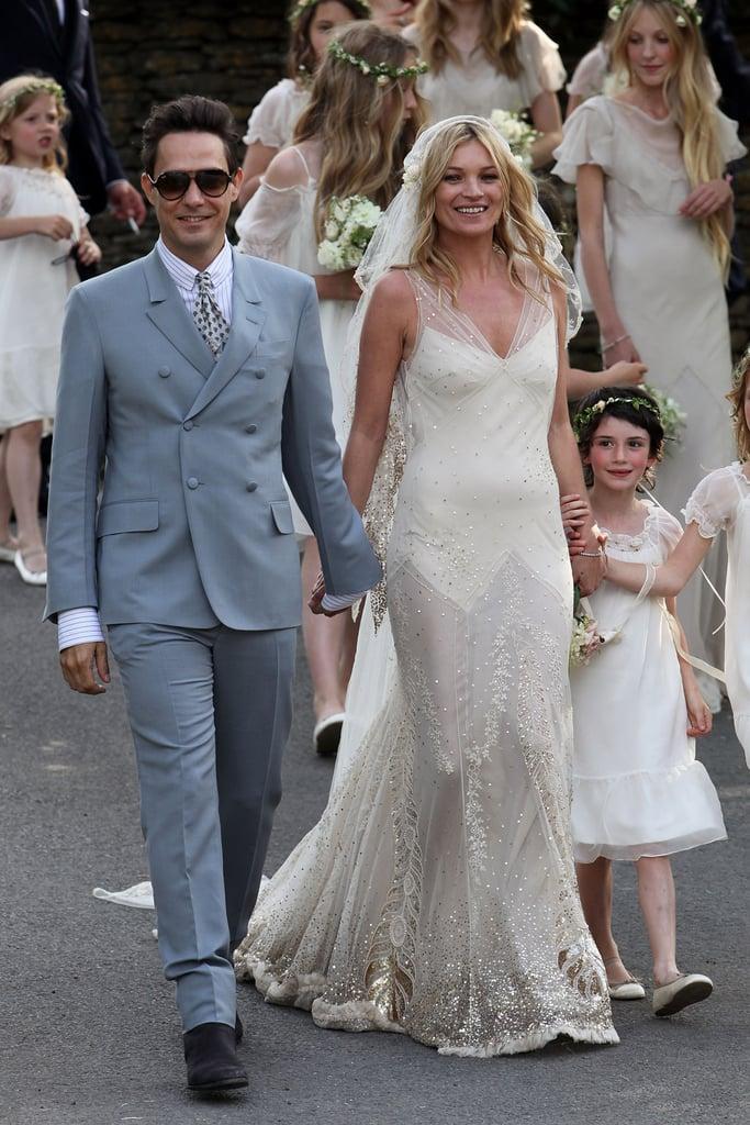 Kate Moss Wearing John Galliano in July 2011