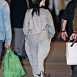 Billie Eilish Wears a Gucci Pillow Around Her Ankle