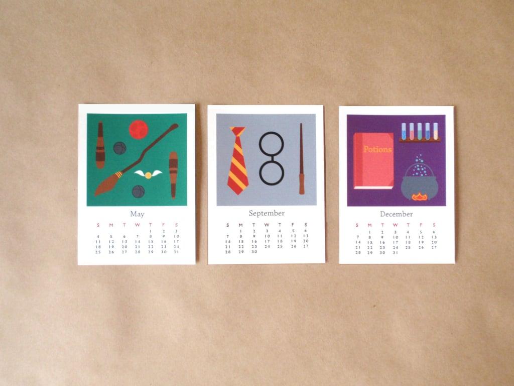Harry Potter-Inspired 2015 Desk Calendar ($16)