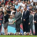 Prince William at the FA Cup Final in London