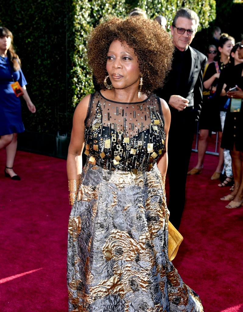 Pictured: Alfre Woodard at The Lion King premiere in Hollywood.