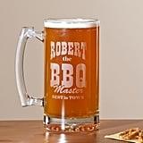 Personalized BBQ Master 25 oz. Beer Mug