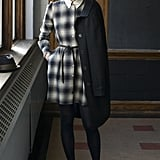 Thom Dolan Ombré Plaid Oxford Shirt Dress ($365)