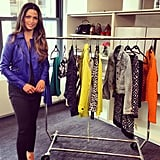 We spent the afternoon talking to Camila Alves about the Spring 2013 INC International Concepts collection for Macy's.